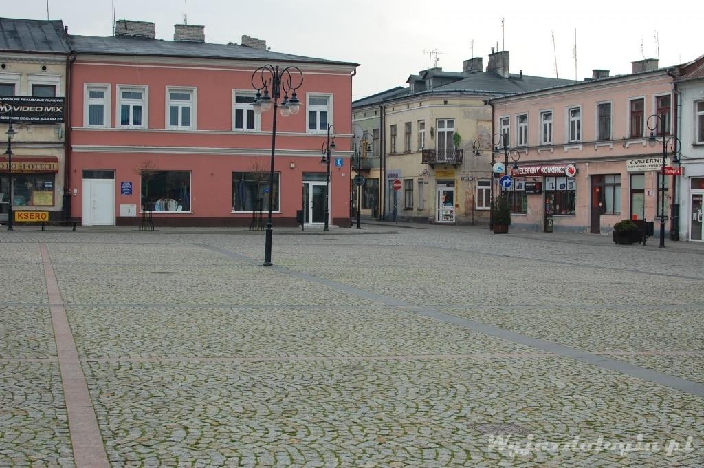 Rynek w Skierniewicach