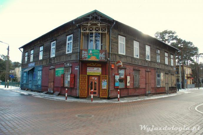 sklep przy ul Kościelnej w Otwocku