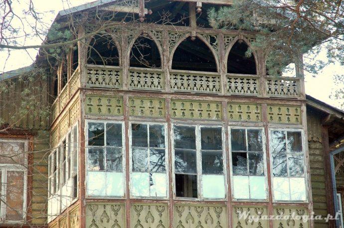 zbliżenie na otwockie sanatorium Gurewicza