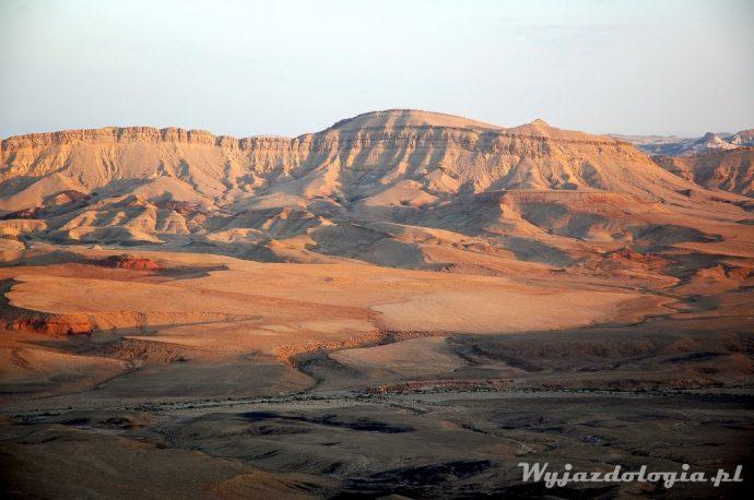 zachód słońca w izraelu
