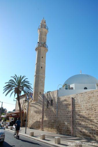 minaret meczetu w jaffie