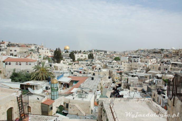 panorama z dachu izrael