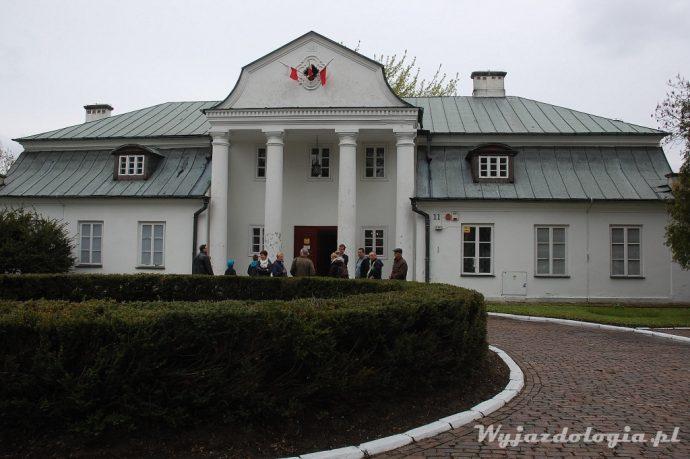 muzeum w hrubieszowi mieści się w ładnym dworku