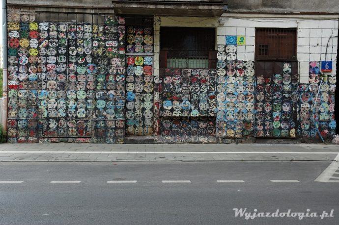 street art praga północ