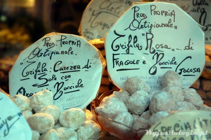 włoskie słodzycze Alba Piemont
