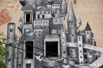 Warszawa Praga Murale