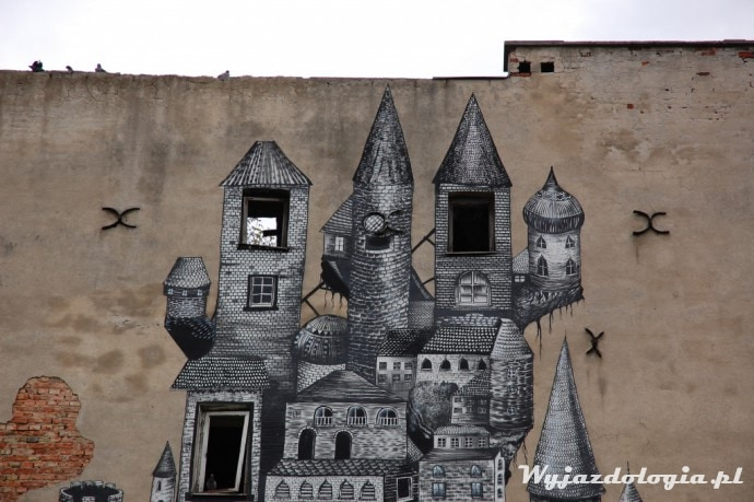 murale w warszawie - mińska 12