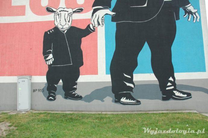 Twożywo mural w Warszawie