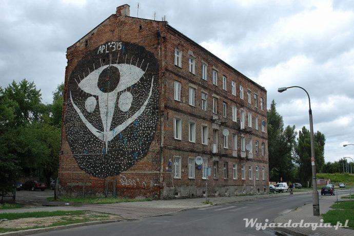 Łomżyńska 27 Szmulki, mural