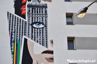 David Bowie Mural Warszawa