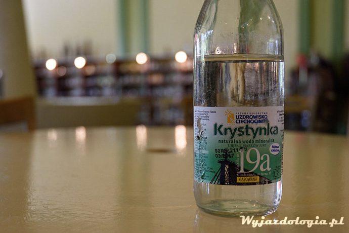 woda Krystynka w pijalni wód Ciechocinek