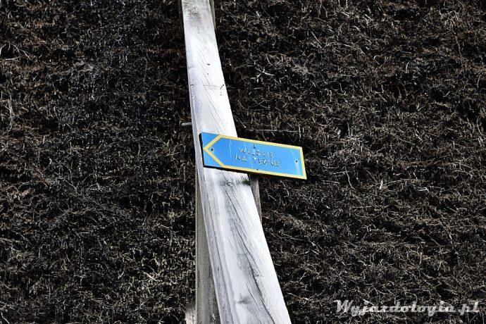 drewniana konstrukcja tężni w Ciechocinku