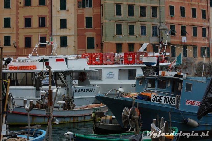 łodzie w Ligurii