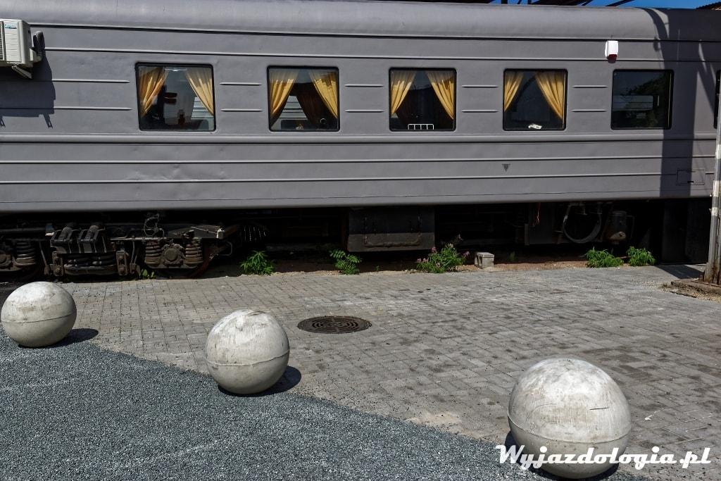 estoński wagon kolejowy