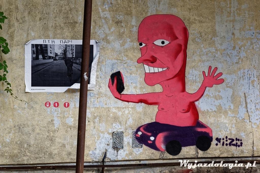 street art w Tallinie