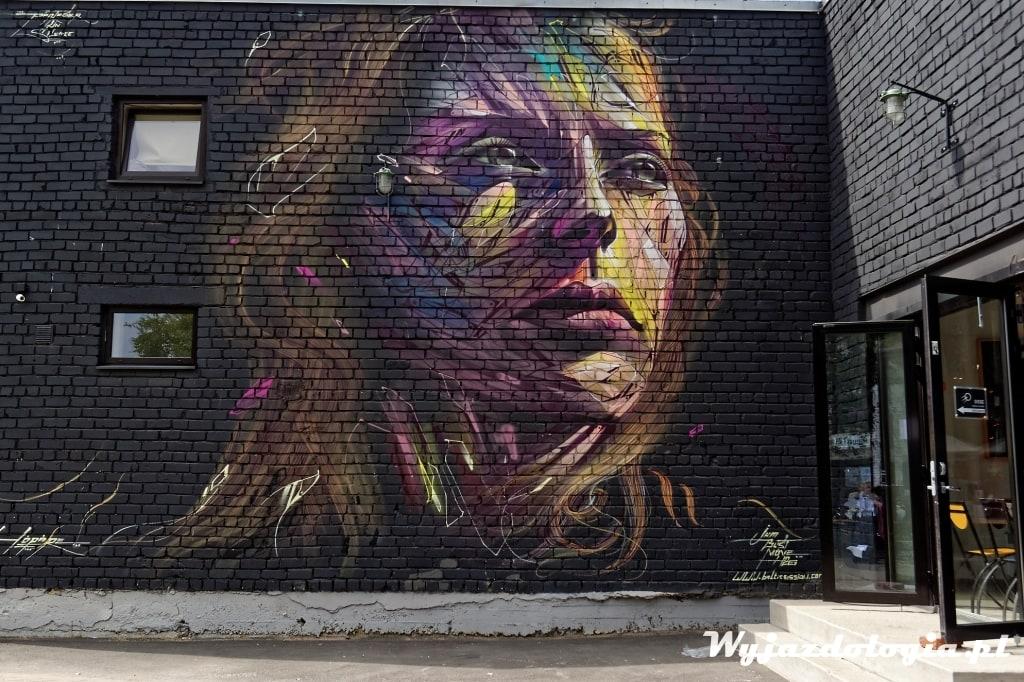 Co zobaczyć w Tallinie Street Art w Telliskivi