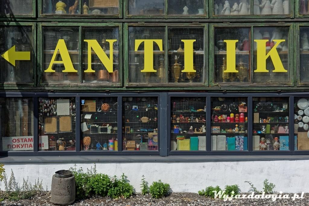 antyki w Tallinie