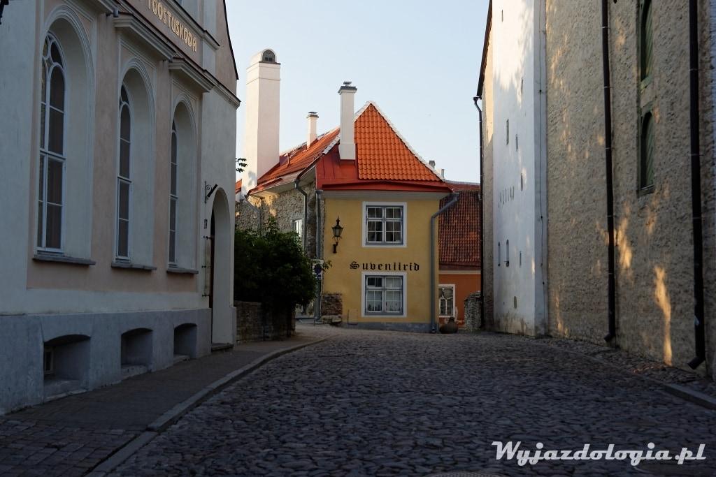 uliczka w Tallinie