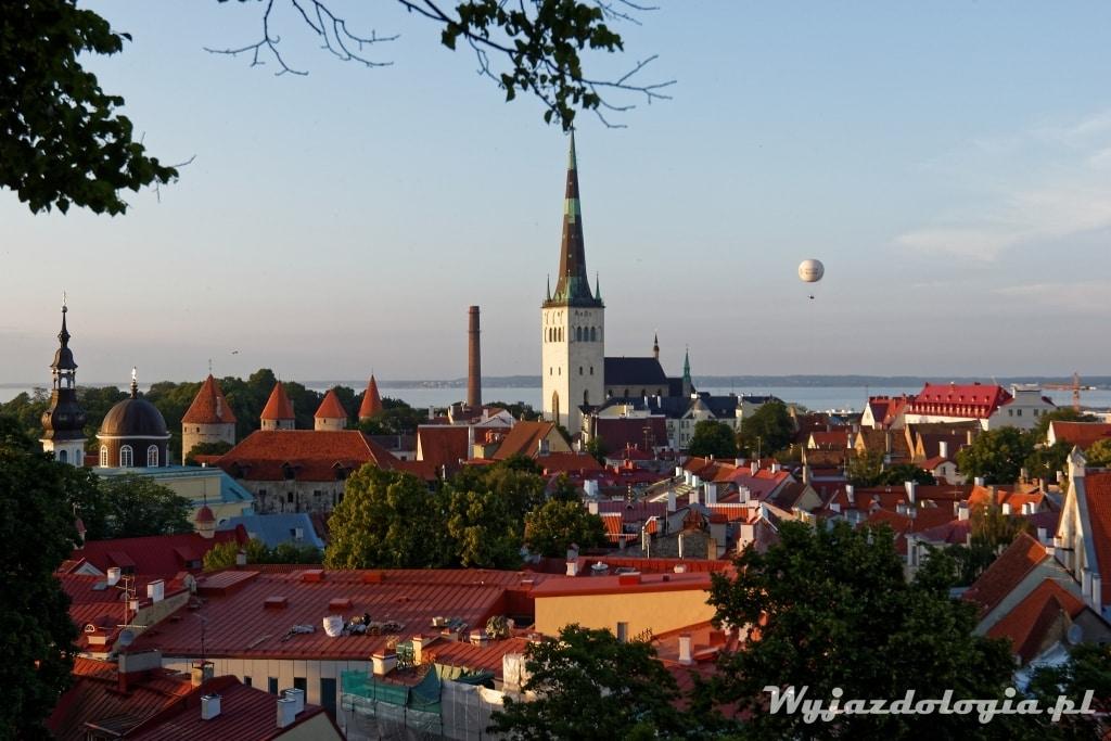 balon na Tallinem