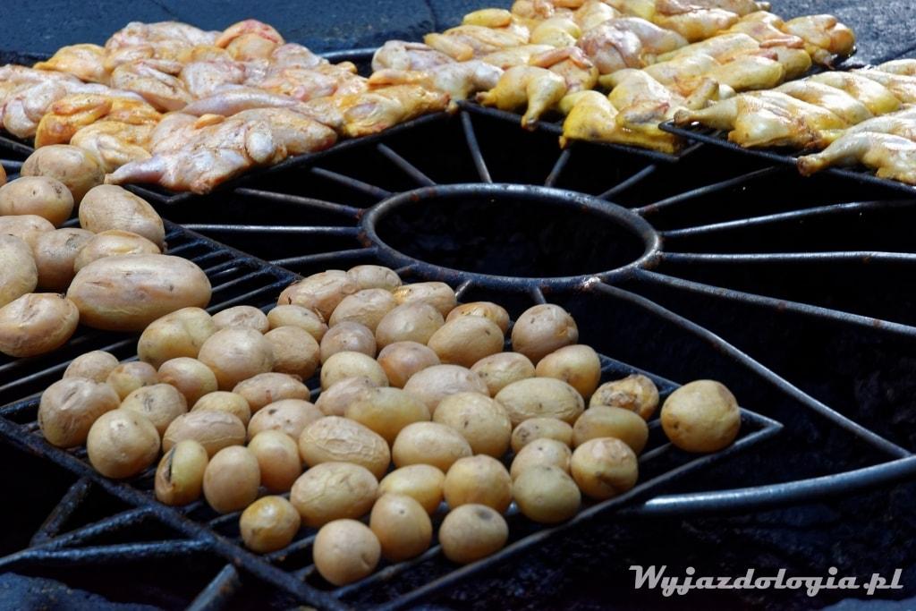 grill na wulkanie Lanzarote