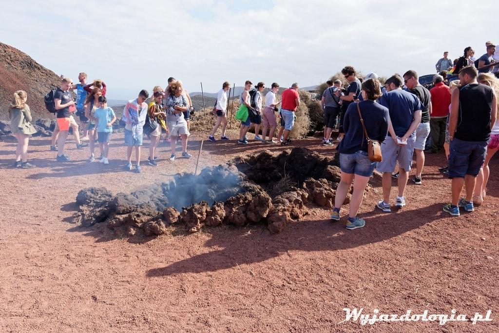 gejzery na Lanzarote