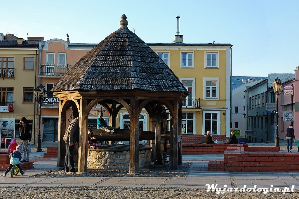 Chełm rynek Plac Łuczkowskiego
