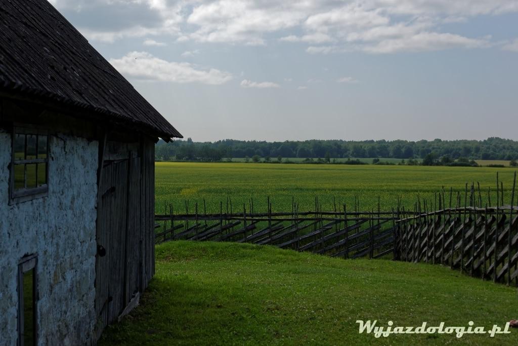 wiejska chata w Estonii na wyspie Sarema