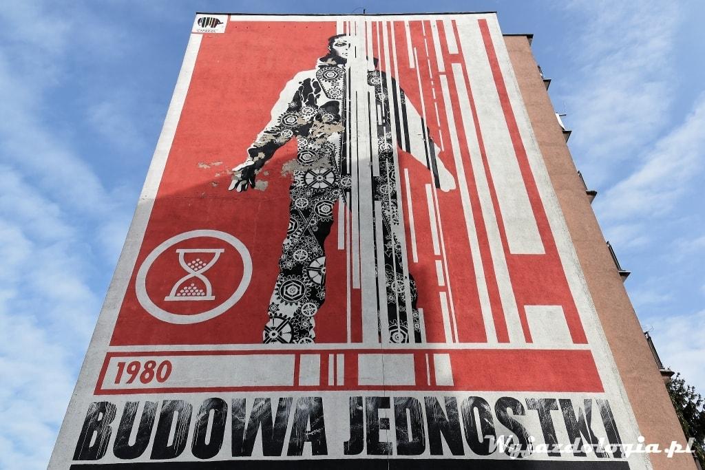 NSZZ Mural Gdańsk Zaspa