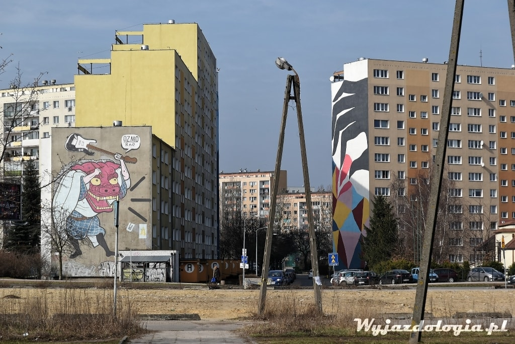 Murale Gdańsk Zaspa