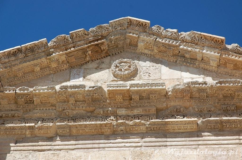 Jerash rzymskie ruiny w Jordanii