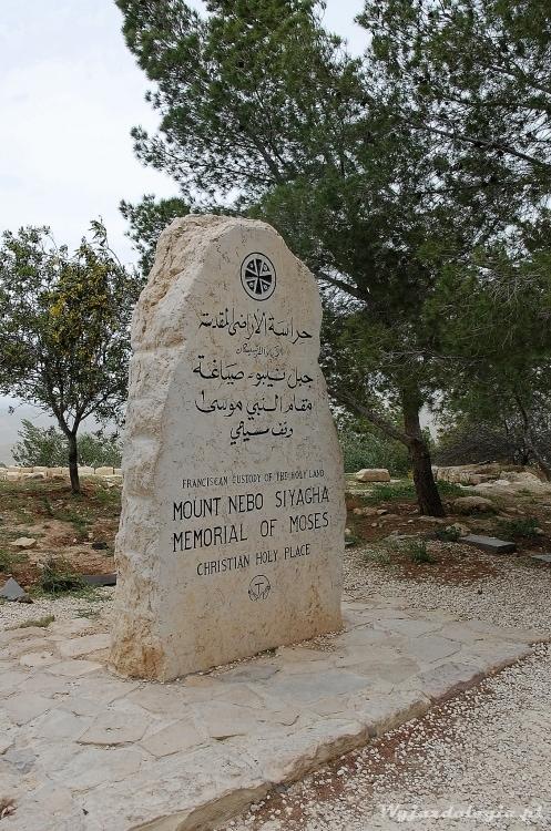 Mojżesz Góra Nebo Jordania