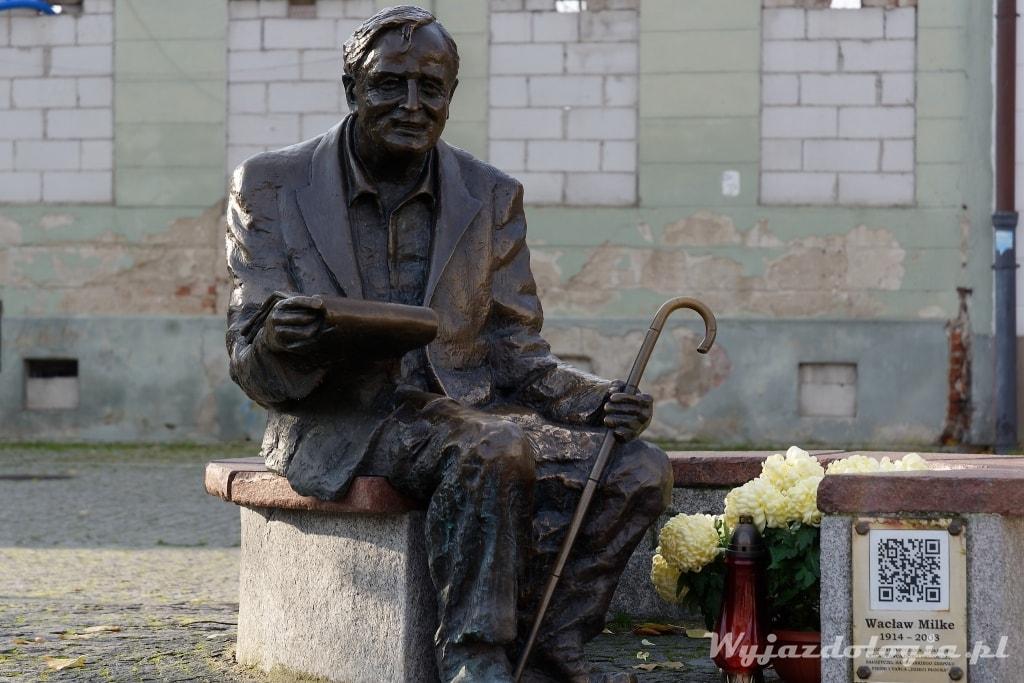 Pomnik Ławeczka Milke Płock