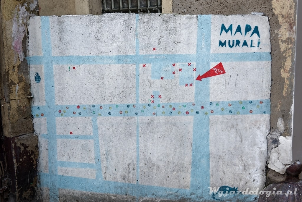 Płock mapa Murali