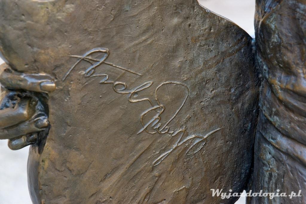 autograf Tadeusza Nalepy