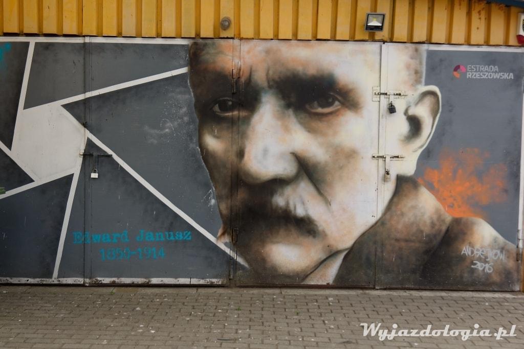 murale w Rzeszowie