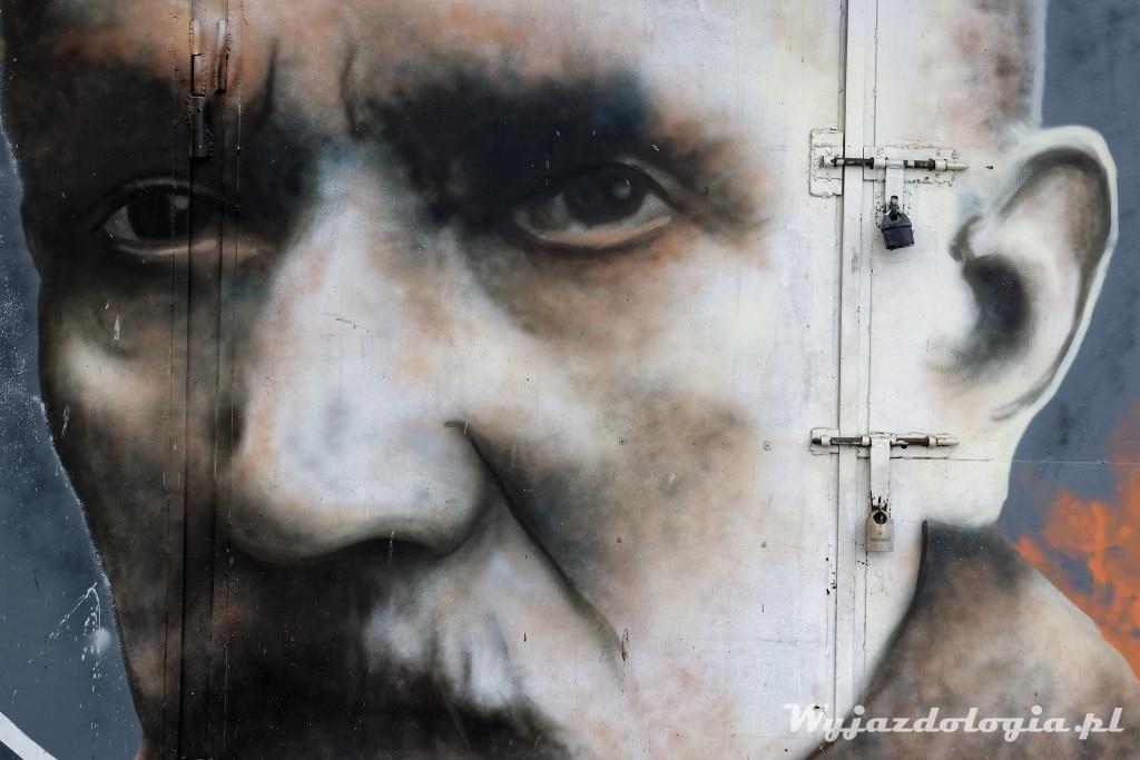 Edward Janusz mural w Rzeszowie