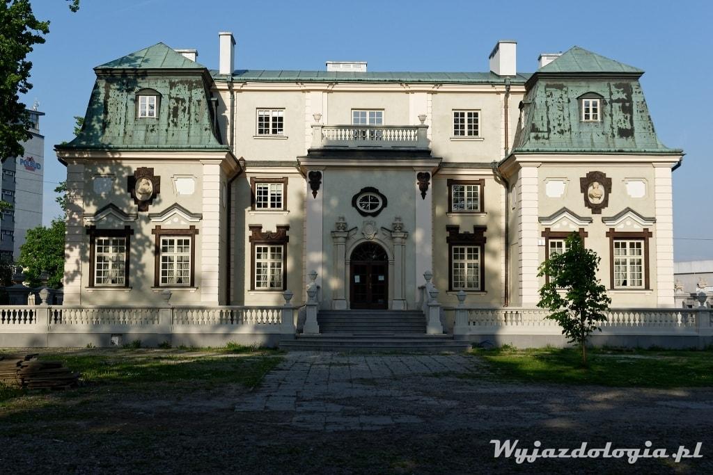 Rzeszów letni pałac Lubomirskich