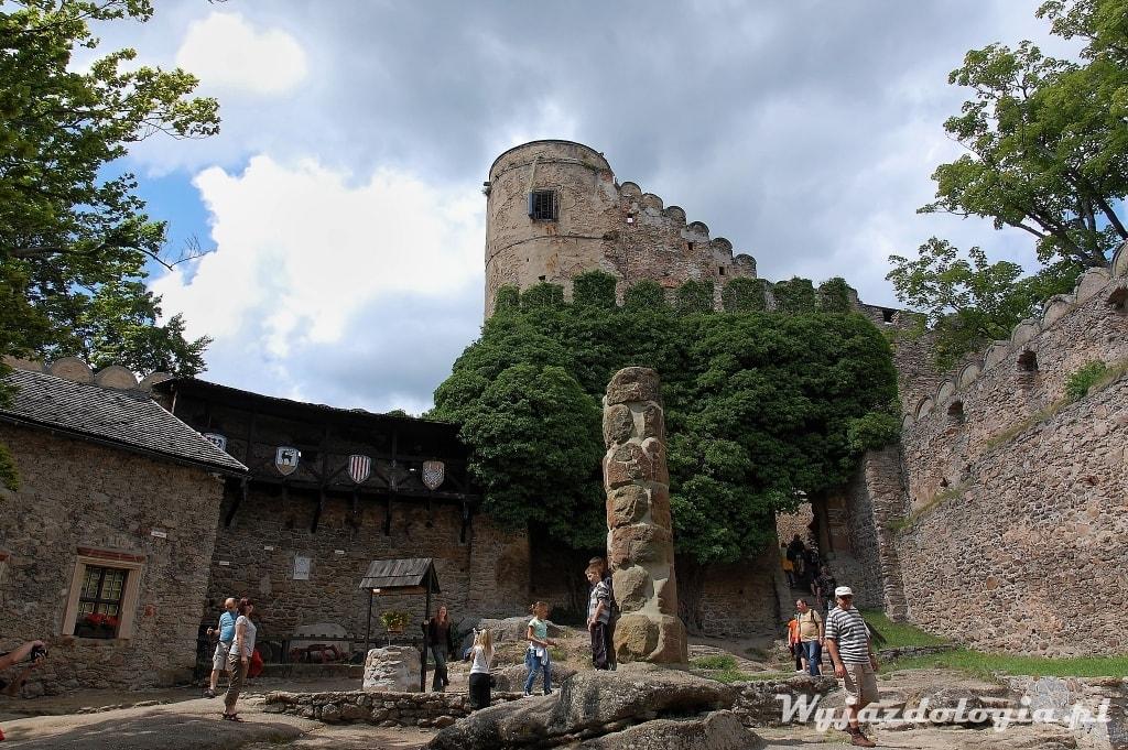 Zamek Chojnik co warto zobaczyć w Karkonoszach