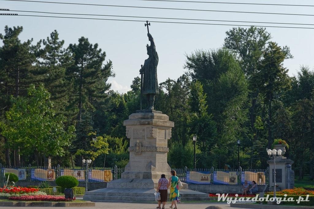 Pomnik Stefana atrakcja Kisyzniowa