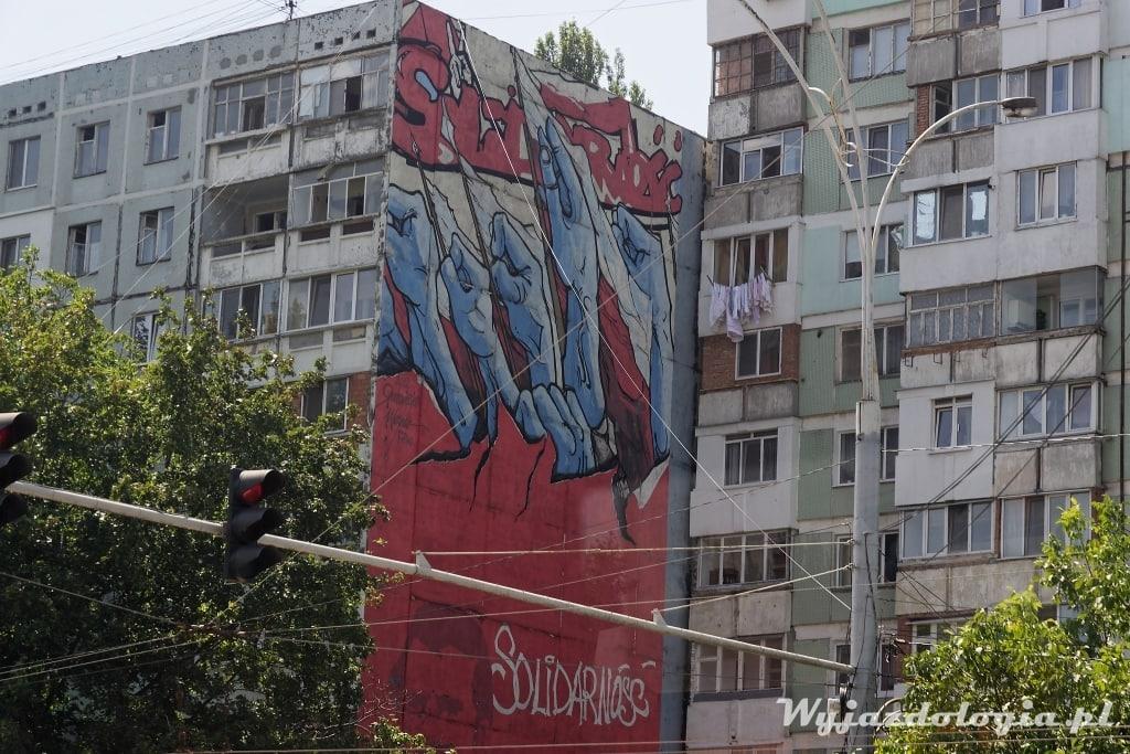 Wałęsa Mural Kiszyniów