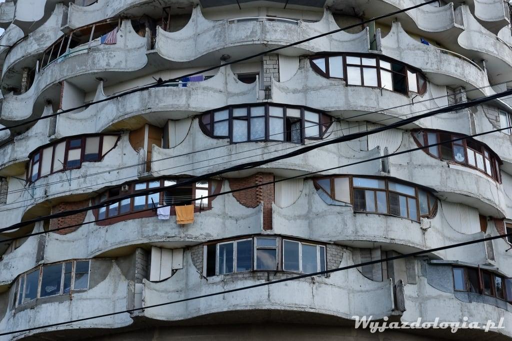 Brutalism in Chisinau