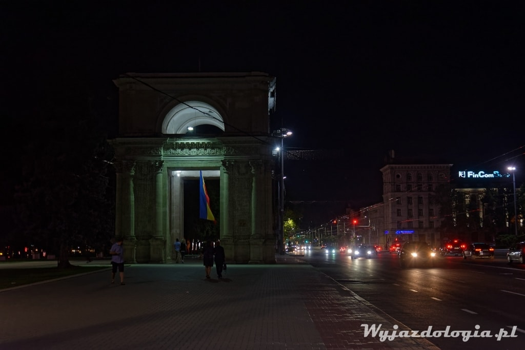 Chisinau by night