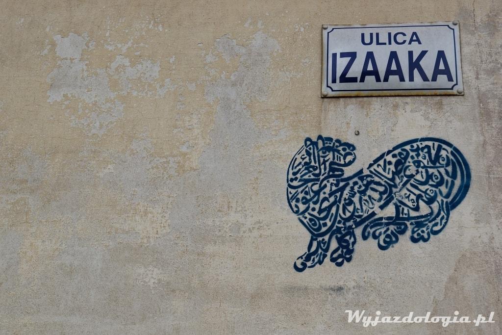 Kraków ulica Izaaka