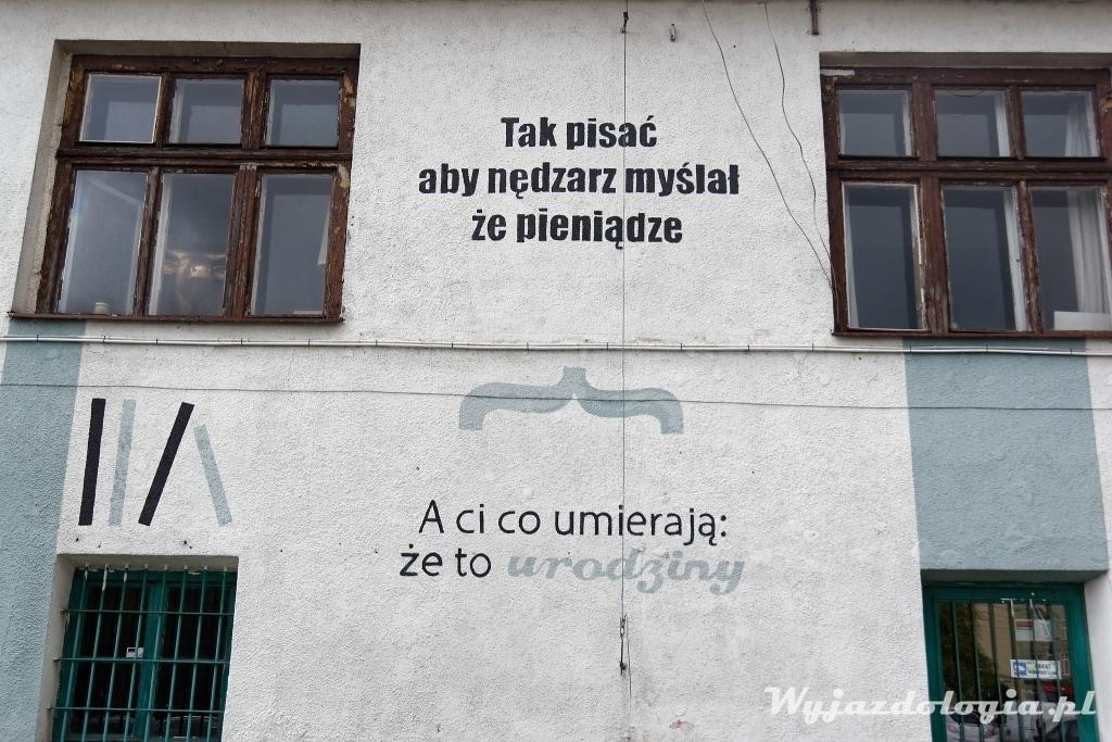 poezja w Krakowie