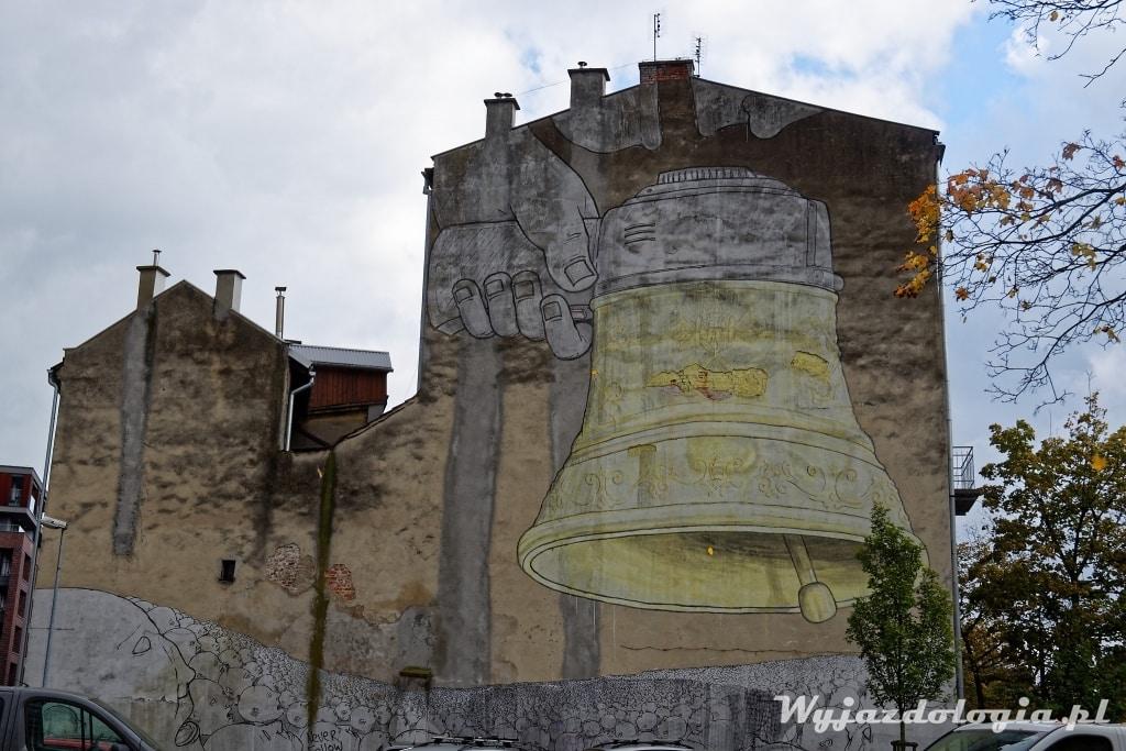 Kraków Mural Blu