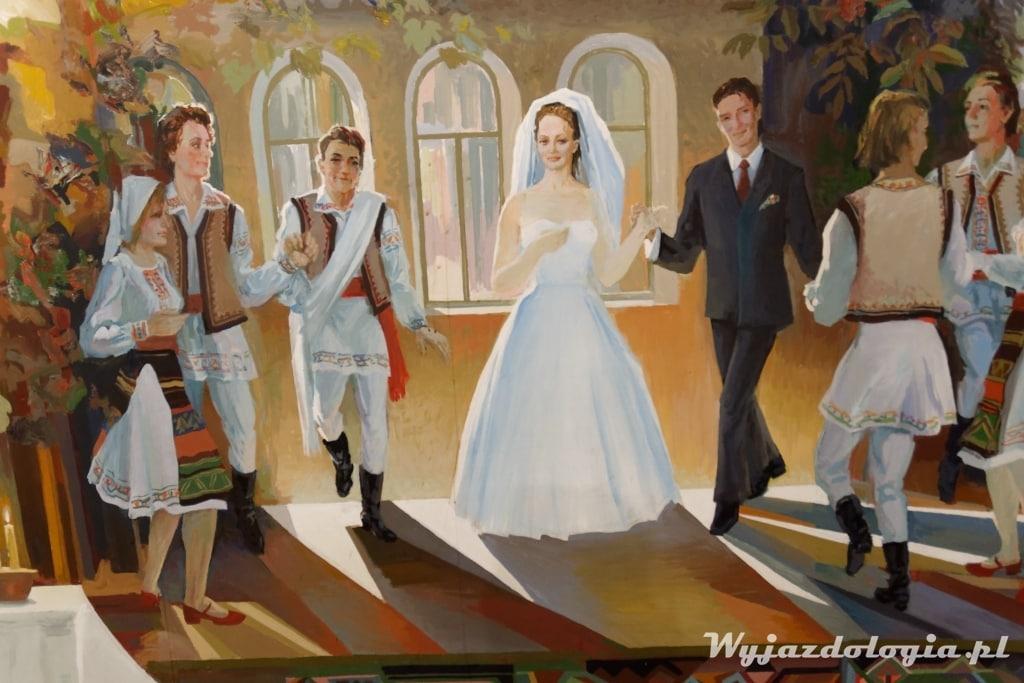 wino wesele i śpiew