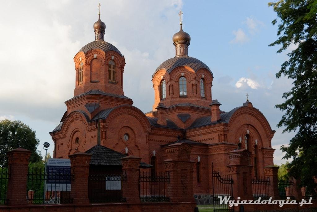 Białowieża cerkiew świętego mikołaja