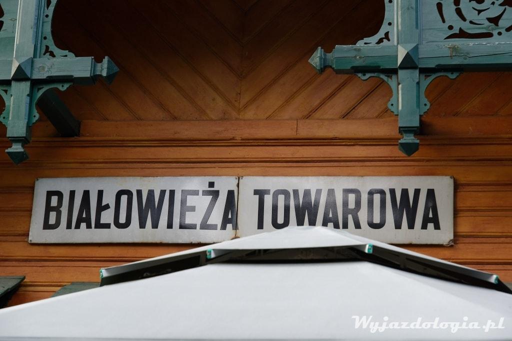 Białowieża Towarowa