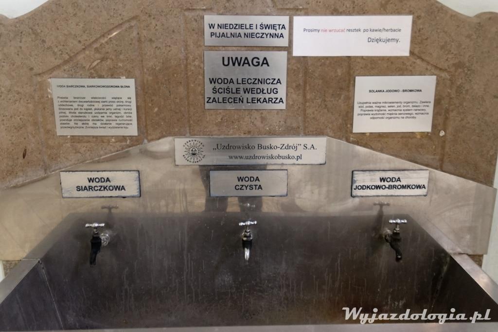 Busko-Zdrój wody lecznicze