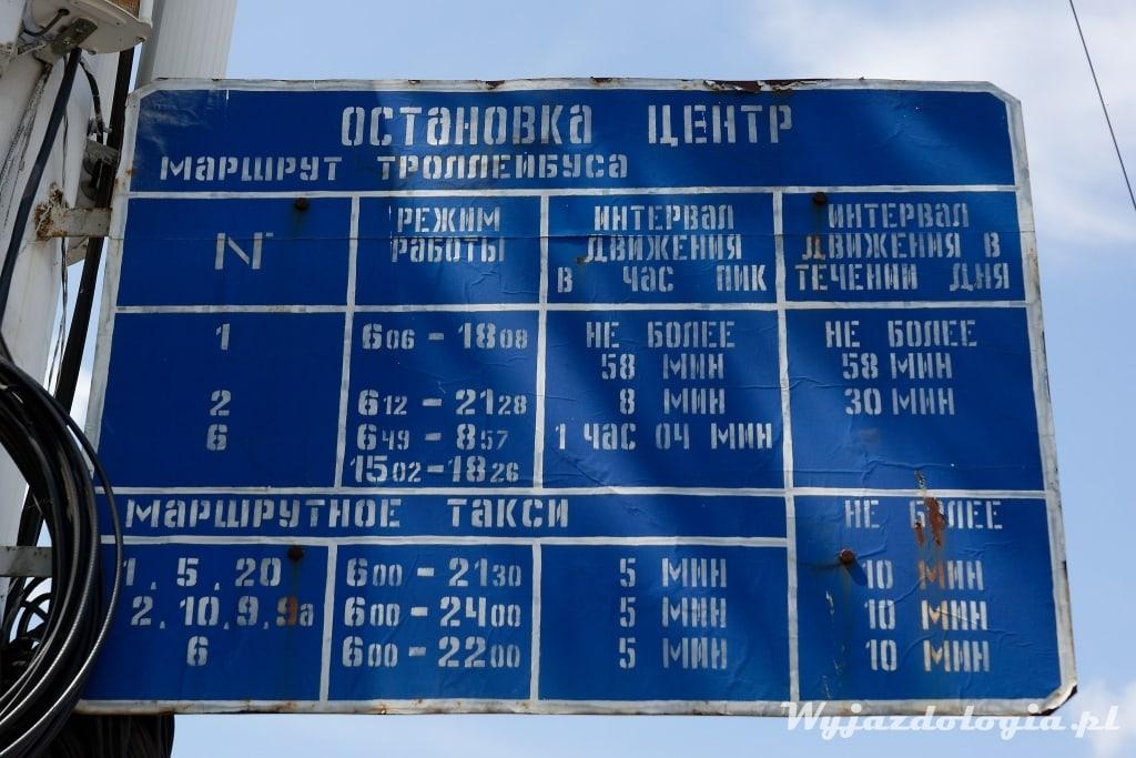 transport Naddniestrze
